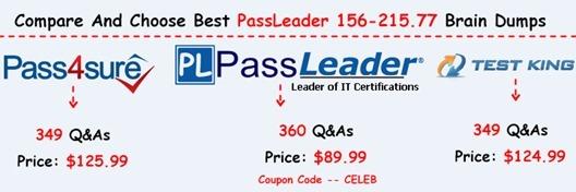 PassLeader 156-215.77 Brain Dumps[17]