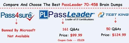 PassLeader 70-458 Exam Dumps[8]